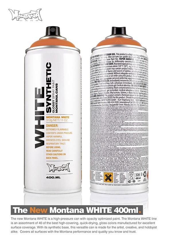 MONTANA WHITE WTE 400 ML