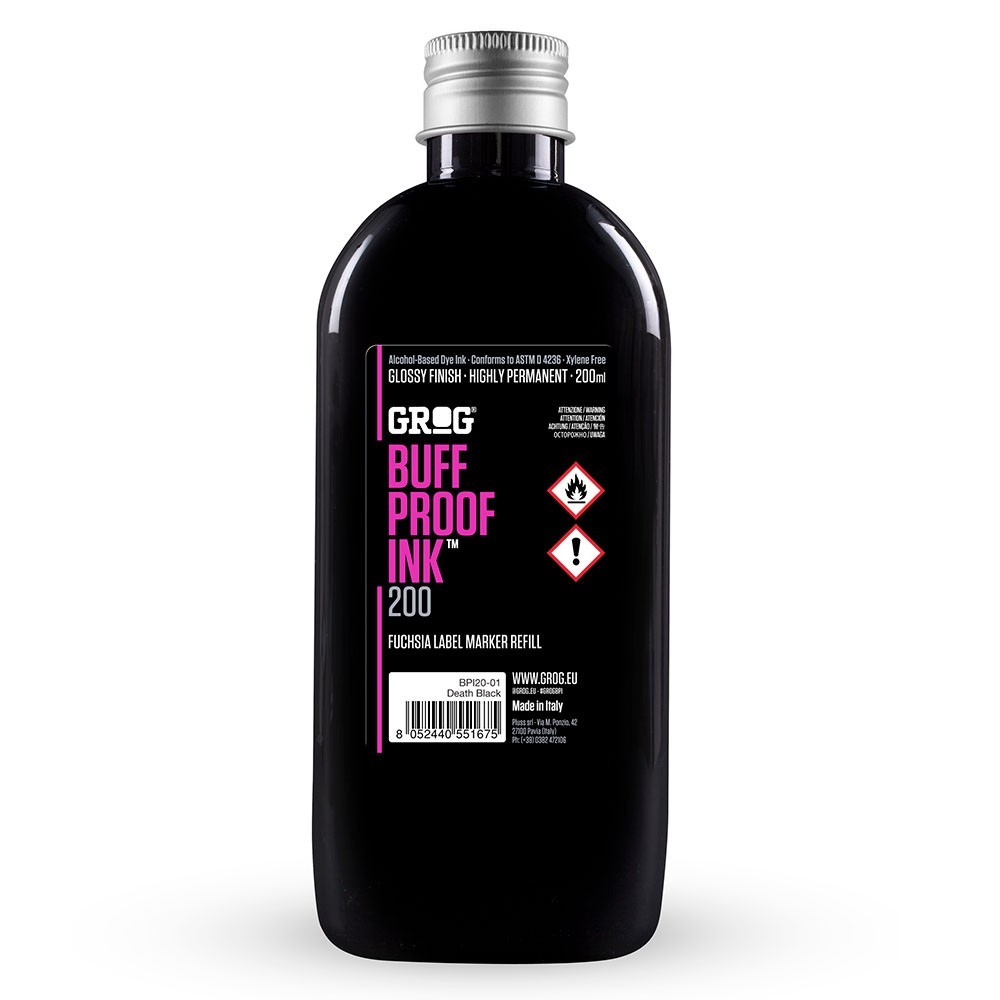 GROG BUFF PROOF INK BPI 200