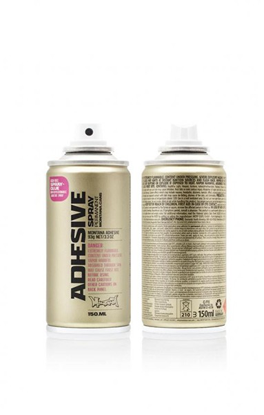 SPRAY GLUE 150ML GOLD