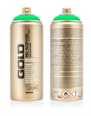FLUO GOLD 400ML
