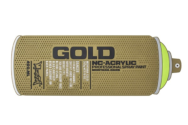 MONTANA COUNTER MAT GOLD