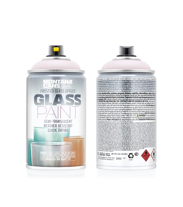 GLASS PAINT FROSTY MONTANA