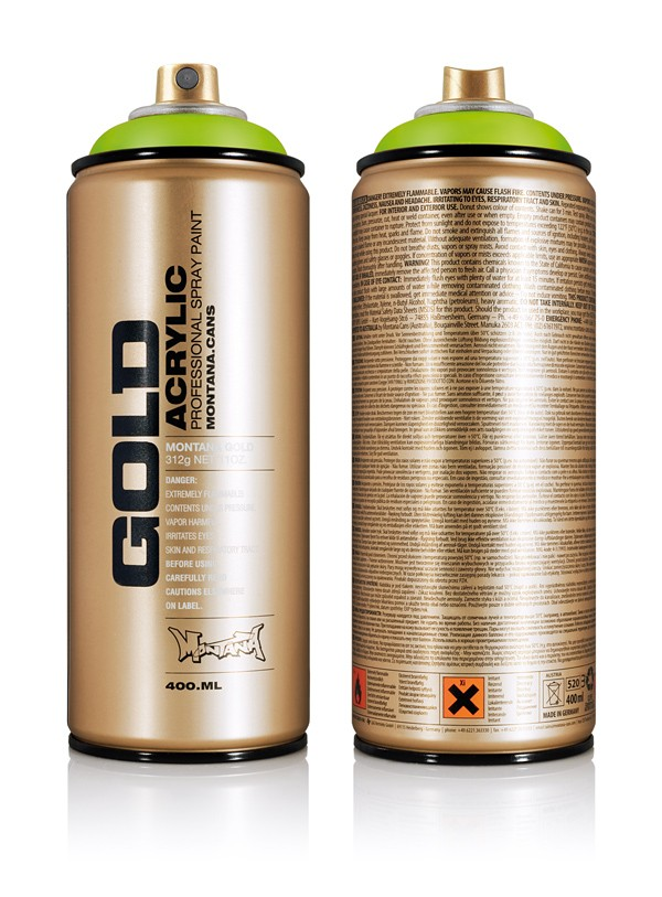 NEW MONTANA GOLD GLD 400ML
