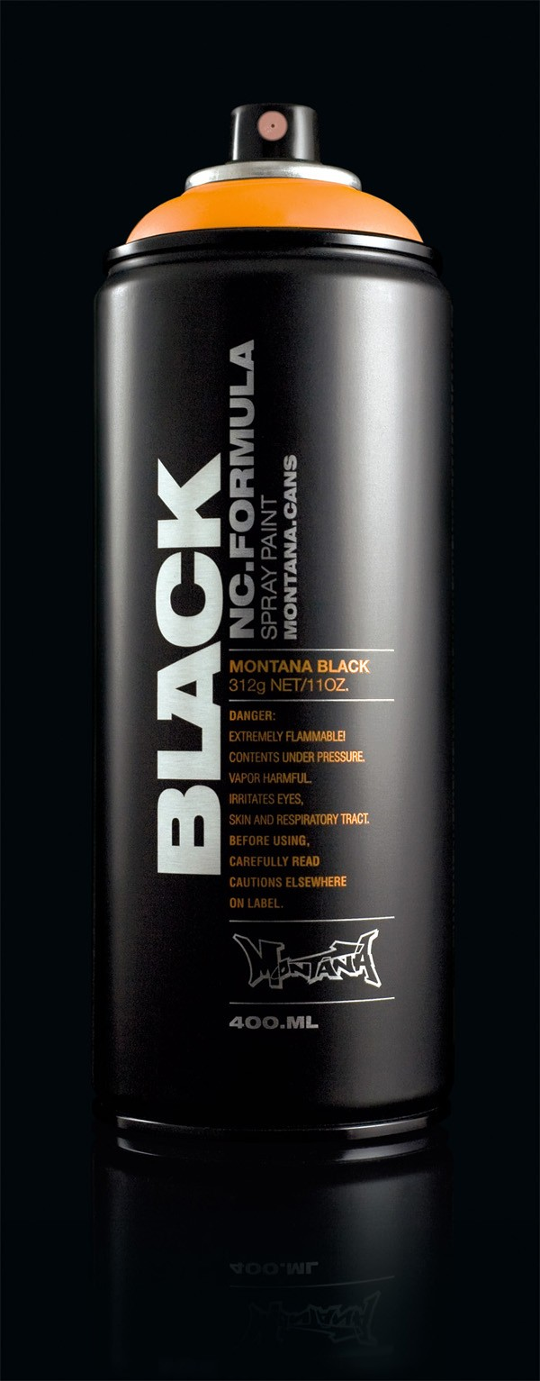 "MONTANA BLACK ""BLK"" 400ML"