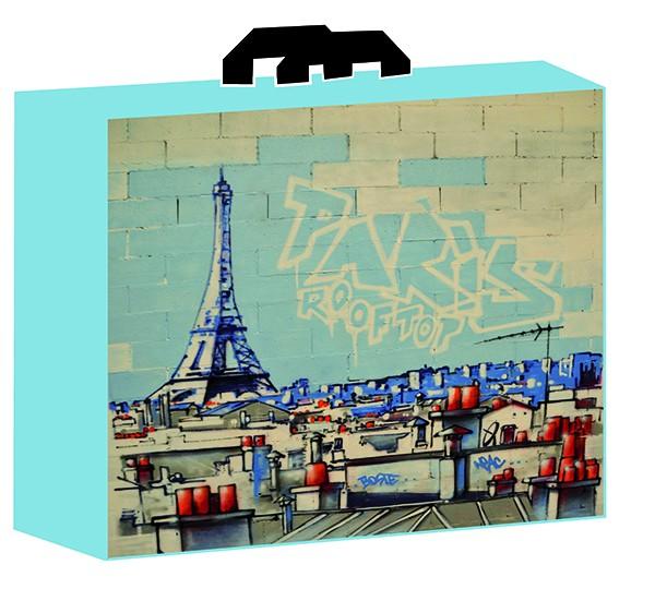 SAC CABAS TOITS DE PARIS